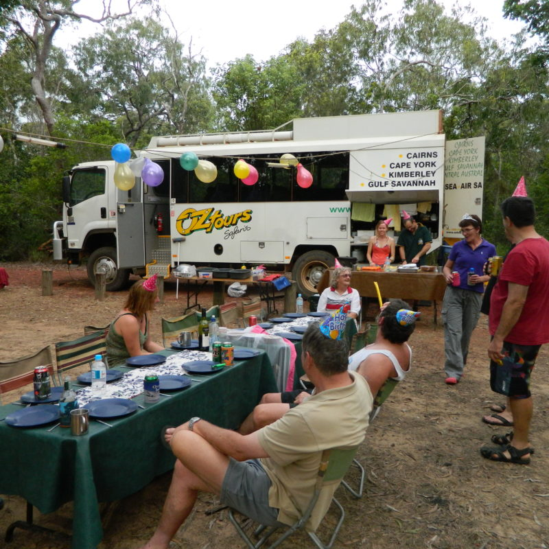 CAPE YORK 12 DAY SEA/OVERLAND CAMPING SAFARI TOUR - WITH GUIDE AND HOSTESS.