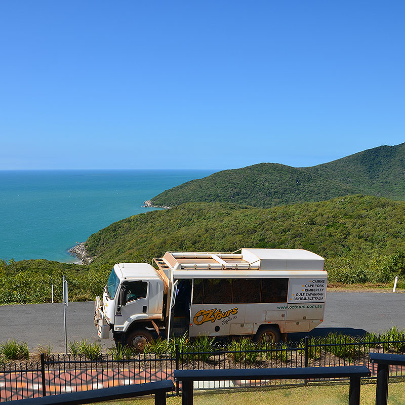CAIRNS, CAPE TRIBULATION, COOKTOWN