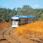 CHILLAGOE CAVES, SAVANNAHLANDER TRAIN, CAIRNS