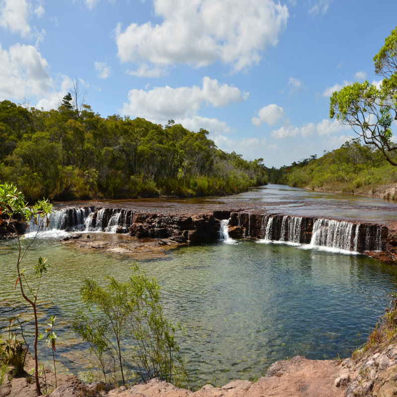 FRUIT BAT FALLS, MORETON TELEGRAPH STATION.